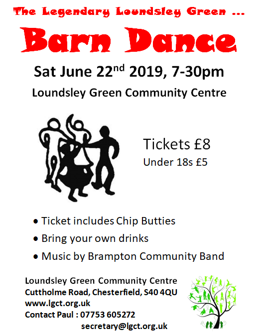 Barn Dance @ Loundsley Green Community Centre | England | United Kingdom