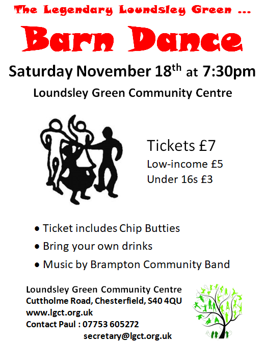 Barn Dance @ Loundsley Green Community Centre | Chesterfield | England | United Kingdom