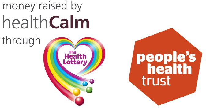 We have been awarded funding from People's Health Trust using money raised by HealthCalm through The Health Lottery'