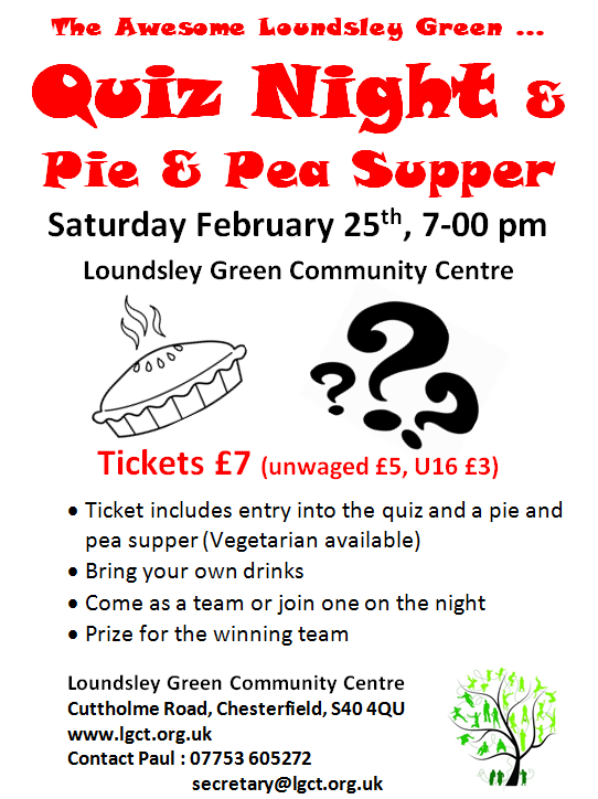 Quiz Night Feb 2017