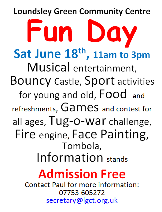 2016 Fun day poster A4
