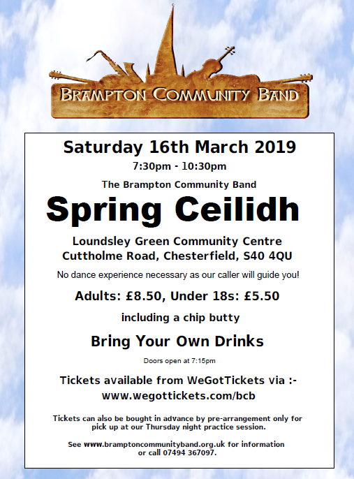 Spring Ceilidh @ Loundsley Green Community Centre