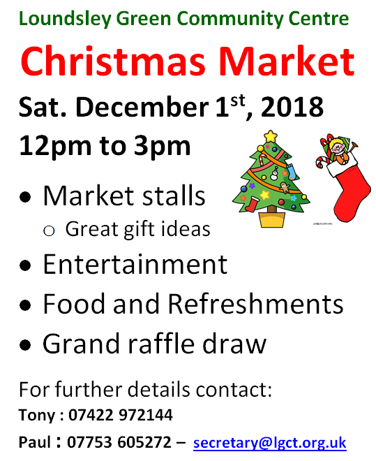 Christmas Market @ Loundsley Green Community Centre | England | United Kingdom