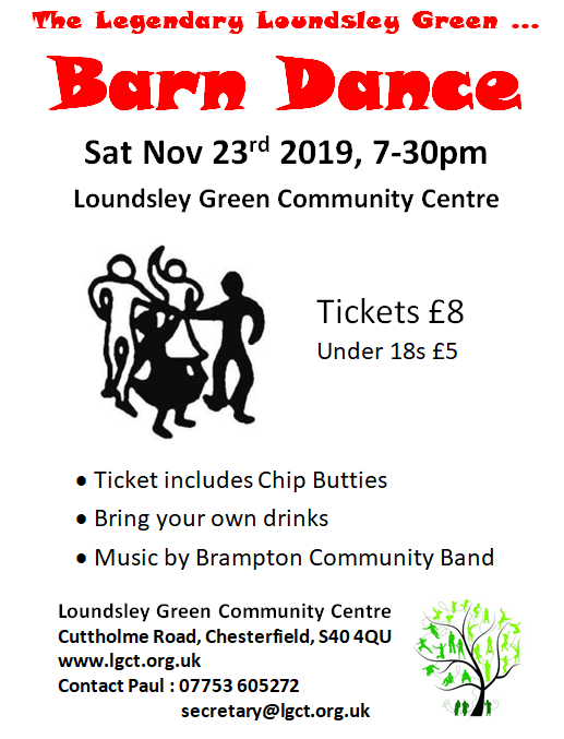 Barn Dance Poster Nov 2019