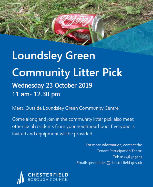 Community Litter Pick @ Loundsley Green Community Centre