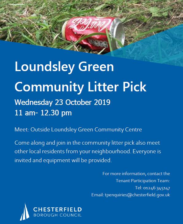 Community Litter Pick @ Loundsley Green Community Centre